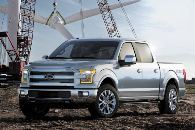 Le Ford F-150 2015 a subi une cure... (Photo fournie par Ford)