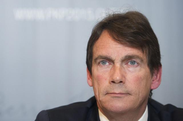 Pierre Karl Péladeau... (La Presse Canadienne, Graham Hughes)