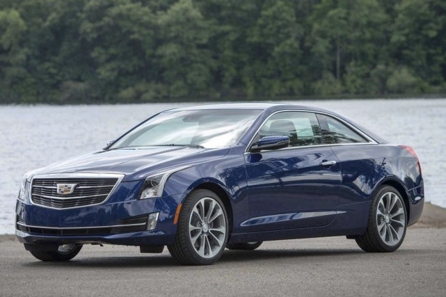 Cadillac ATS Coupé 2015... (Photo fournie par Cadillac)
