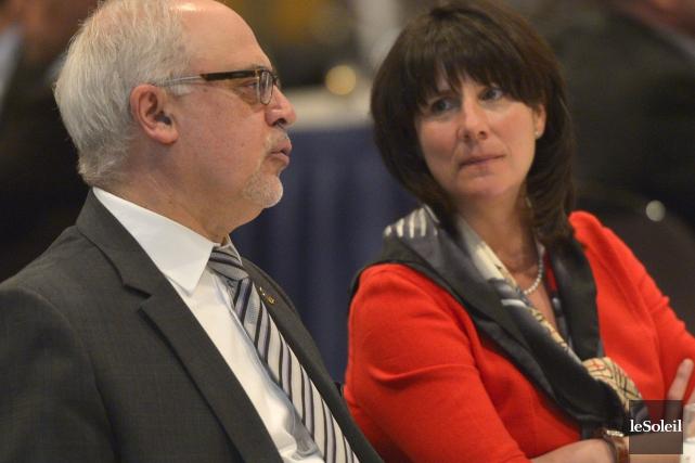 Le ministre des Finances du Québec Carlos Leitao... (Le Soleil, Yan Doublet)