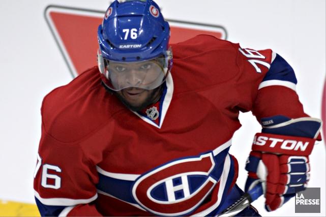 P K Subban du Canadien de Montréal... (Photothèque La Presse)