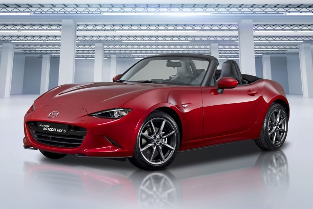 Le roadster Mazda MX-5 2016... (Photo fournie par Mazda)