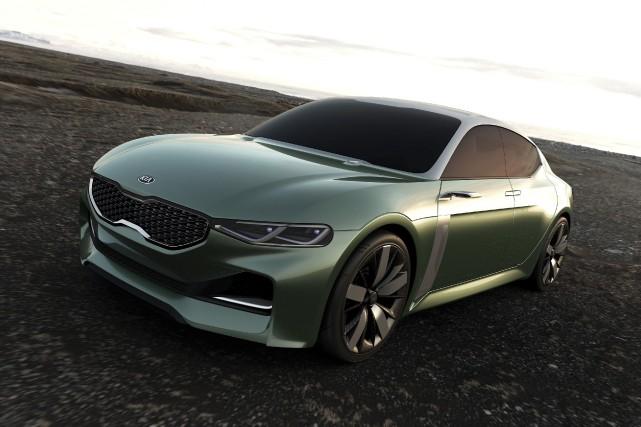 La Kia Novo est un prototype qui préfigure... (PHOTO FOURNIE PAR KIA)