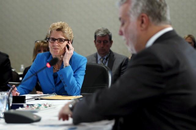 Le sommet des premiers ministres sur les changements climatiques a mis en... (Photo Reuters)