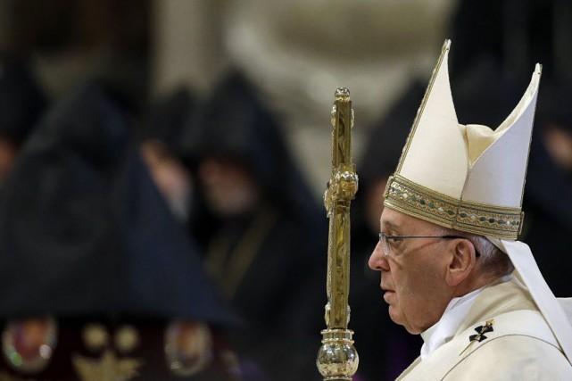 En janvier, une déclaration du pape sur le... (Photo Gregorio Borgia, AP)