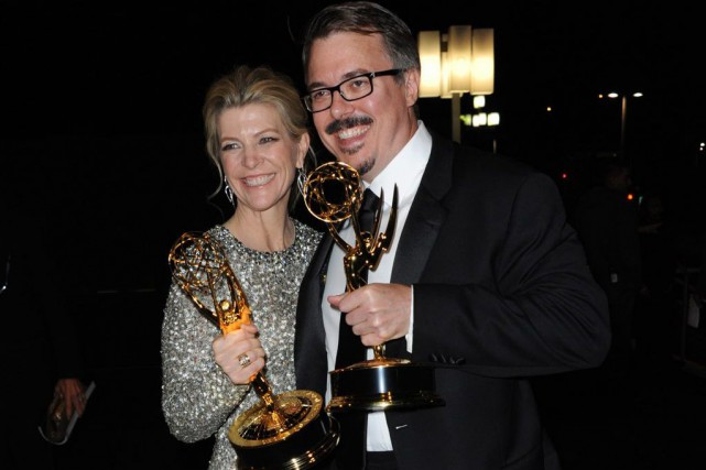 Michelle MacLaren et Vince Gilligan de Breaking Bad... (Photo: archives AP)