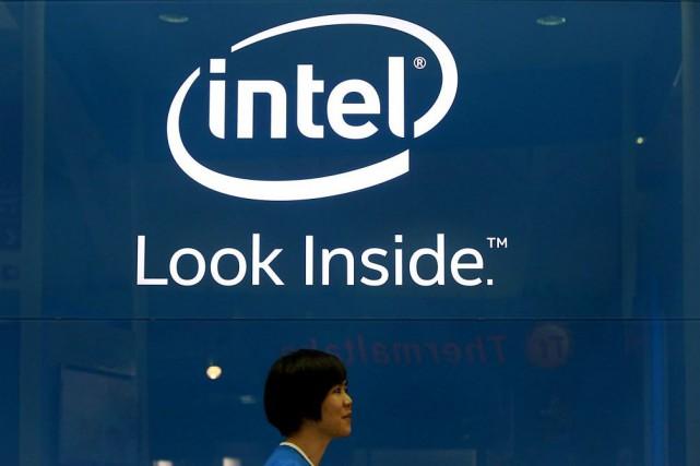 Intel est engagé en Chine dans une coentreprise... (Photo PICHI CHUANG, Reuters)