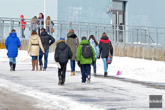 L'école secondaire de Neufchâtel... (Photothèque Le Soleil)