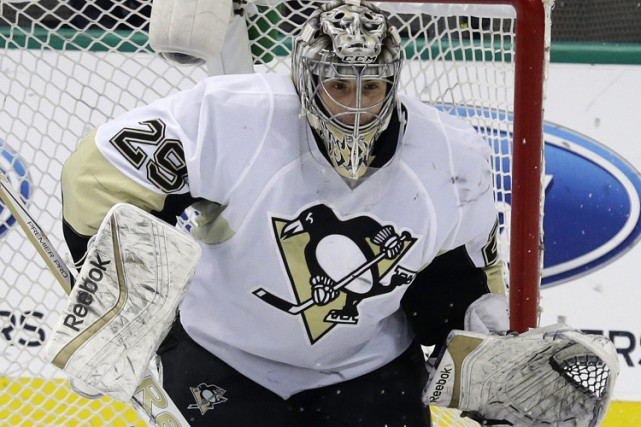 Marc-André Fleury... (Photo: AP)