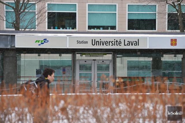 L'Université Laval doit jongler avec un manque à... (Photothèque Le Soleil, Jean-Marie Villeneuve)