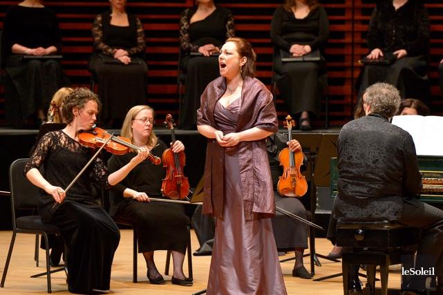 Dorothea Röschmann imposait le respect sur scène dans... (Photothèque Le Soleil, Yan Doublet)