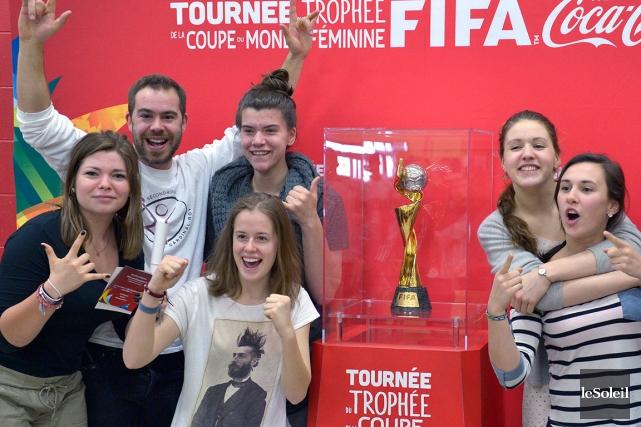 Les jeunes inscrits en sports-études soccer de l'école... (Le Soleil, Yan Doublet)