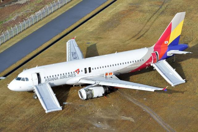 L'ensemble des 73 passagers et les huit membres... (Photo: AP)