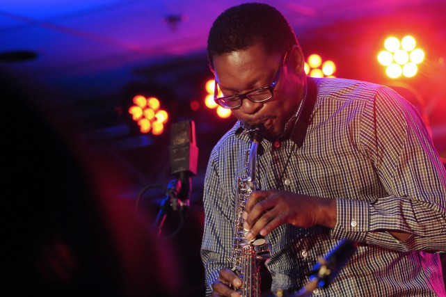 Ravi Coltrane a charmé le public, nombreux, qui... ((Photo Mariane L. St-Gelais))