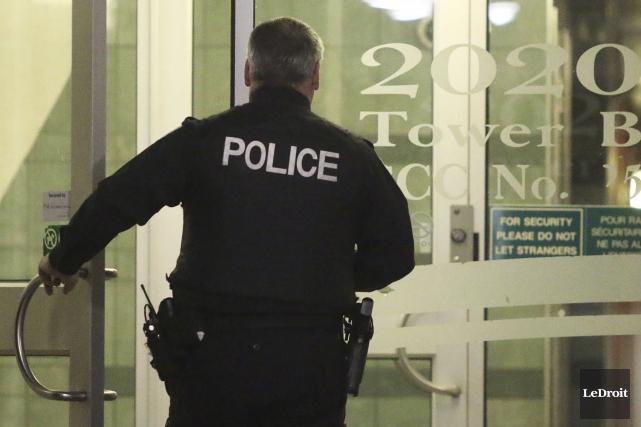 L'Unité des crimes majeurs du Service de police... (Etienne Ranger, LeDroit)