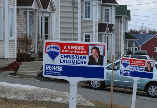 Les ventes de maisons sont en baisse de 5 % dans la région métropolitaine de... (Photo: La Voix de l'Est)