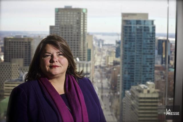 Marie-Hélène Jetté, avocate en droit du travail et... (PHOTO ANDRÉ PICHETTE, LA PRESSE)