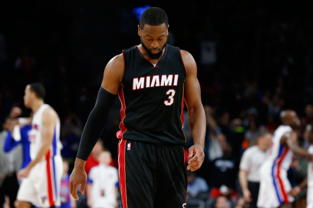 Dwyane Wade, du Heat de Miami.... (Photo Paul Sancya, archives AP)