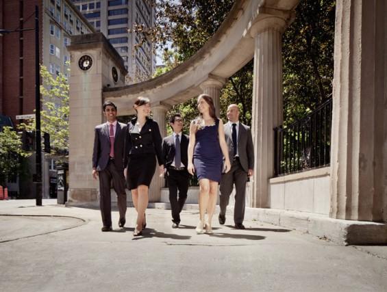 La moyenne d'âge du MBA à McGill est... (PHOTO FOURNIE PAR L'UNIVERSITÉ MCGILL)