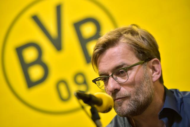 L'entraîneur du Borussia Dortmund, Jürgen Klopp.... (Photo Martin Meissner, AFP)