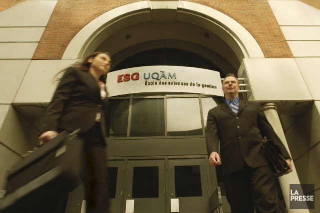 À l'UQAM, les étudiants au MBA sont âgés... (PHOTO IVANOH DEMERS, ARCHIVES LA PRESSE)