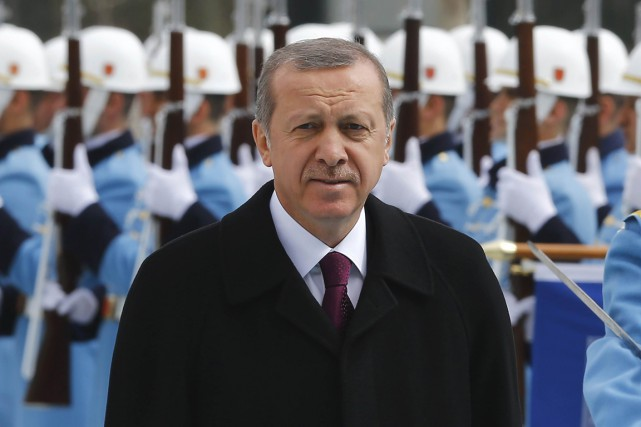 Le président Recep Tayyip Erdogan.... (PHOTO UMIT BEKTAS, ARCHIVES REUTERS)