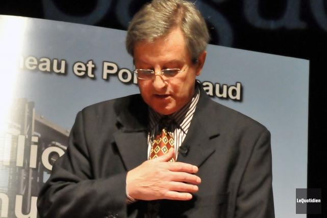 Le maire de Saguenay, Jean Tremblay.... (Photothèque Le Quotidien)