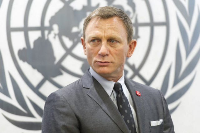 Daniel Craig... (PHOTO ARCHIVES AP)