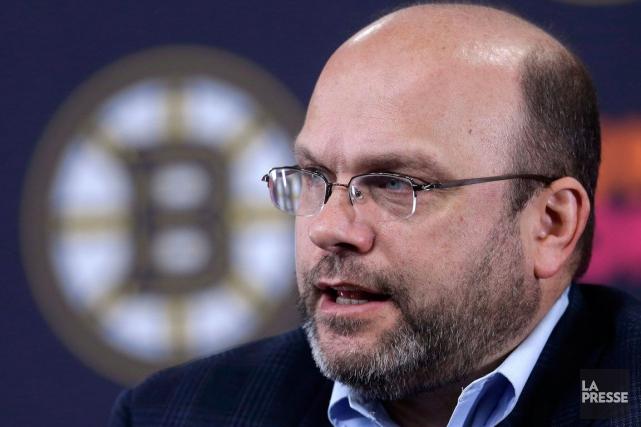 Le directeur général des Bruins de Boston, Peter... (Steven Senne, Archives La Presse Canadienne)