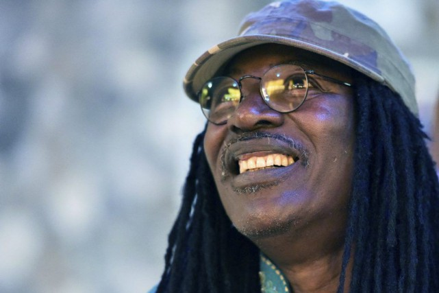 Alpha Blondy... (Photo: AFP)