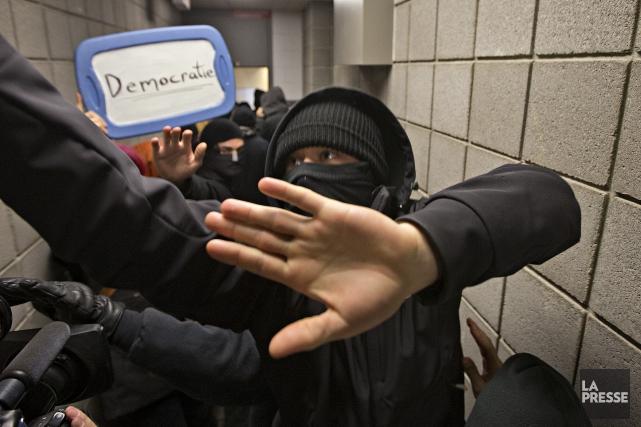 La liberté d'expression - et par conséquent, la... (Photo Patrick Sanfaçon, La Presse)
