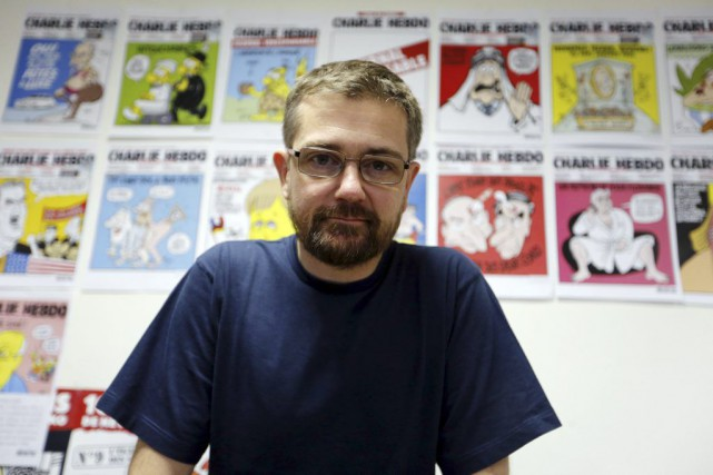 Charb en 2012.... (Photo: archives AFP)