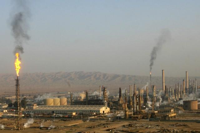La raffinerie de Baïji, au nord de Bagdad.... (Archives Reuters)