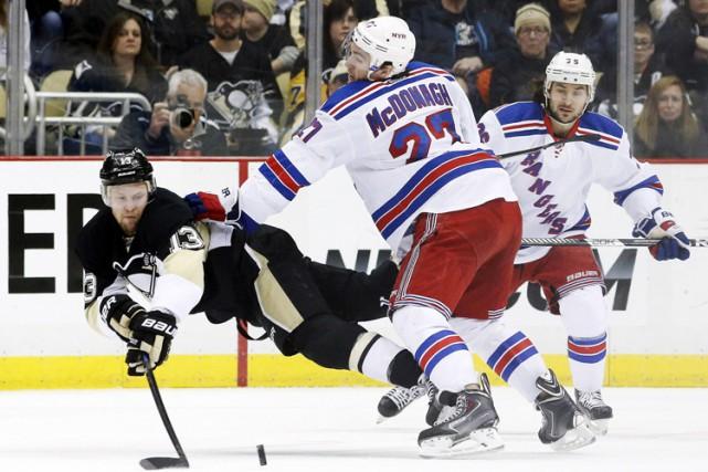 La dernière fois qu'ils se sont affrontés en séries éliminatoires, les Rangers... (Photo: Reuters)