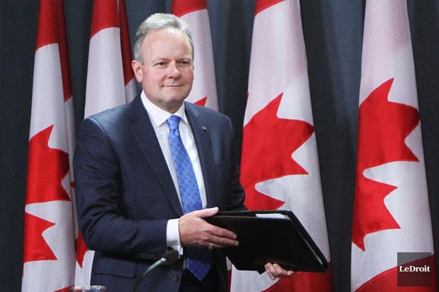 Le gouverneur de la Banque du Canada, Stephen... (Photo Étienne Ranger, Le Droit)