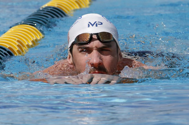 Michael Phelps... (Photo: AP)