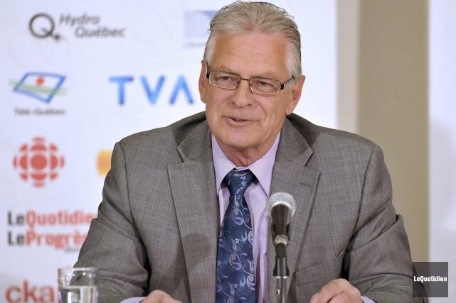 Arthur Gobeil était l'invité du Cercle de presse... ((Photo Le Quotidien-Rocket Lavoie))