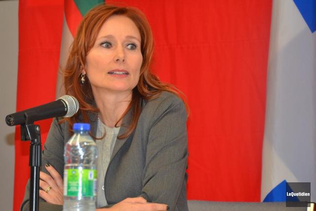 La directrice générale de la Chambre de commerce... (Archives Le Quotidien, Patricia Rainville)