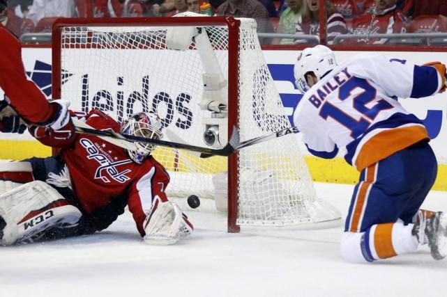 Ryan Strome a dénoué l'impasse en début de deuxième période et les Islanders... (Photo: AP)