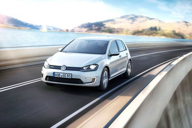 La e-Golf de Volkswagen est vendue dans certains... (Photo fournie par Volkswagen)