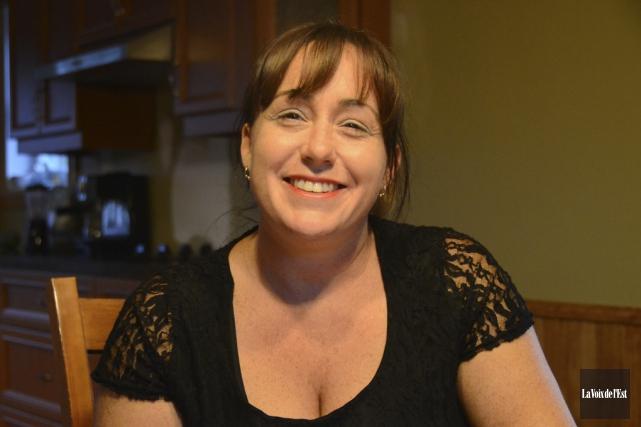 Maryse Sauvé, qui souffre d'une maladie dégénérative de... (photo archives La Voix de l'Est)