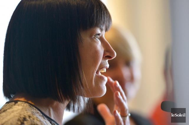 Chantal Petitclerc croit qu'il est temps de former... (LE SOLEIL, Yan Doublet)