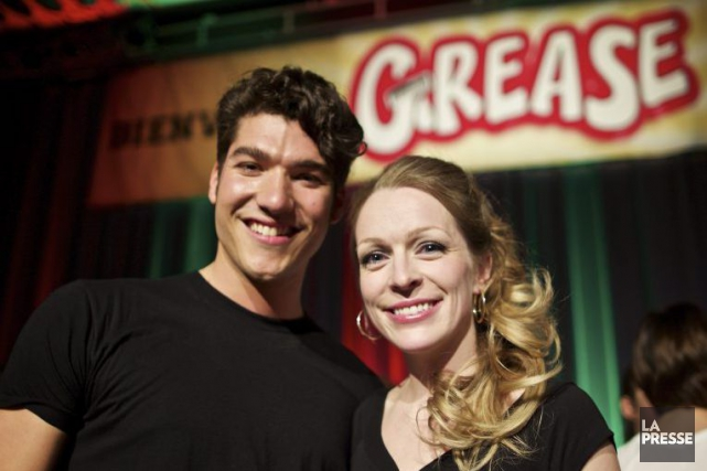 Le célèbre couple de la comédie musicale Grease... (Photo: André Pichette, La Presse)