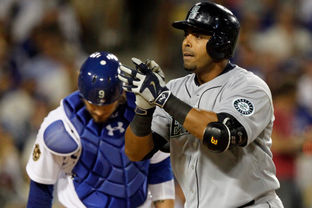 Nelson Cruz... (Photo Alex Gallardo, AP)