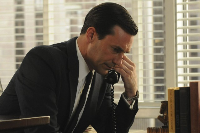 Dans la saison finale de Mad Men, le... (Photo: archives AP)