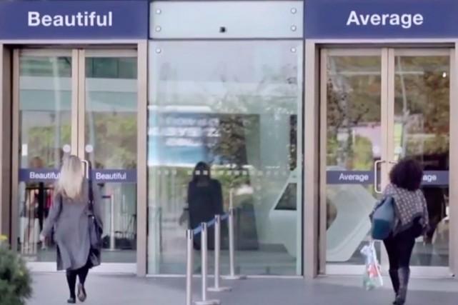 Dans le clip de la nouvelle campagne de... (Photo tirée du site de Dove)