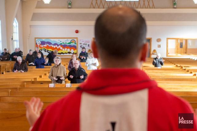 L'Église fait face à deux défis: la désaffection... (Photo: La Presse)