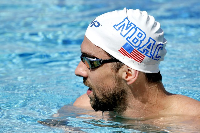 Michael Phelps... (Photo Matt York, AP)