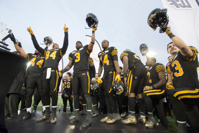 Les Tiger-Cats de Hamilton ont a dépensé 5 008... (Photo Frank Gunn, PC)