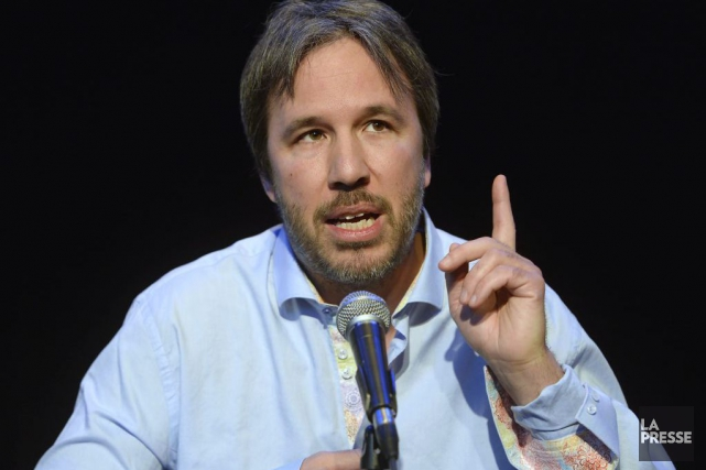 Denis Villeneuve en conférence de presse.... (Photo: La Presse Canadienne)